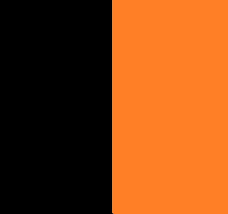 Black+Black/Orange