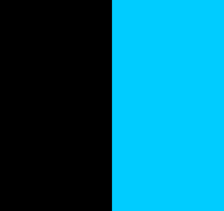 Black/Turquouise