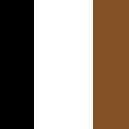 Black/White/Tobacco