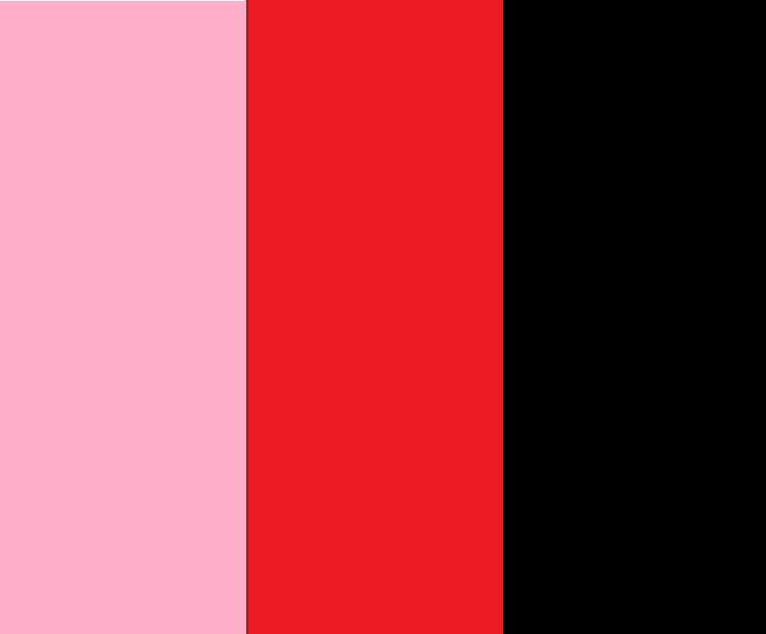 Pink/Red/Black