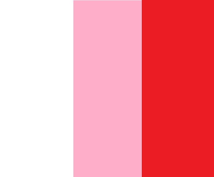 White/Pink/Red