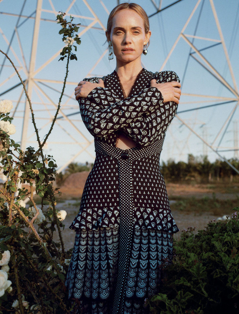 fall 2018 featuring amber valletta by zoe ghertner