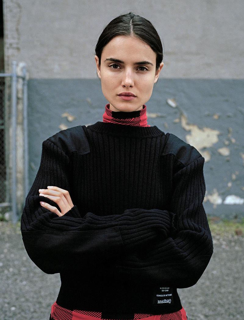 pswl drop three august september blanca padilla black sweater