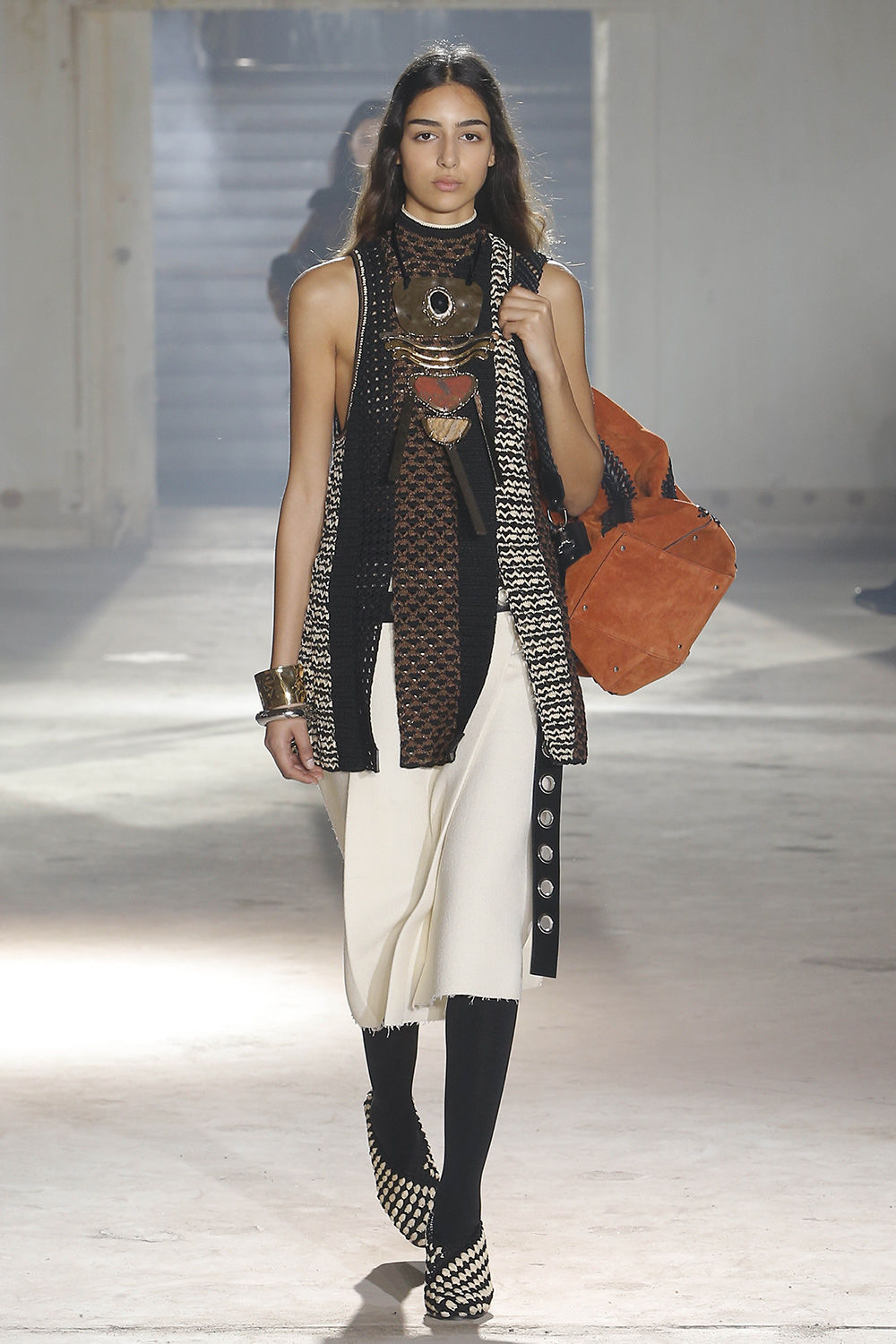 proenza schouler fall 2018 runway look 3