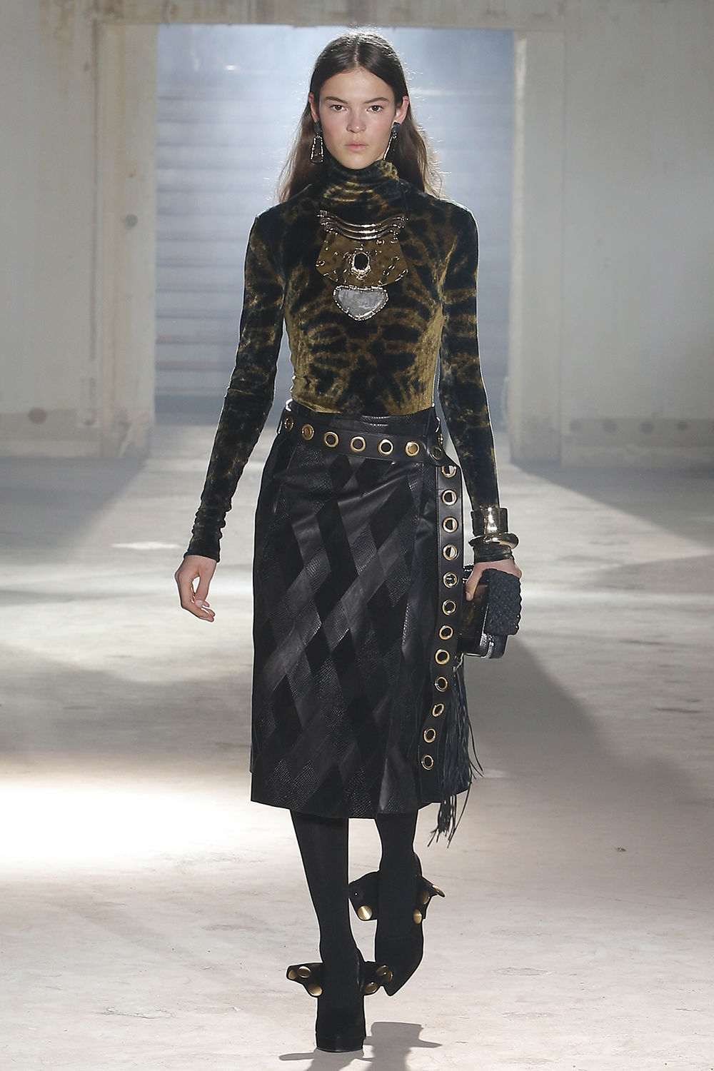 proenza schouler fall 2018 runway look 6