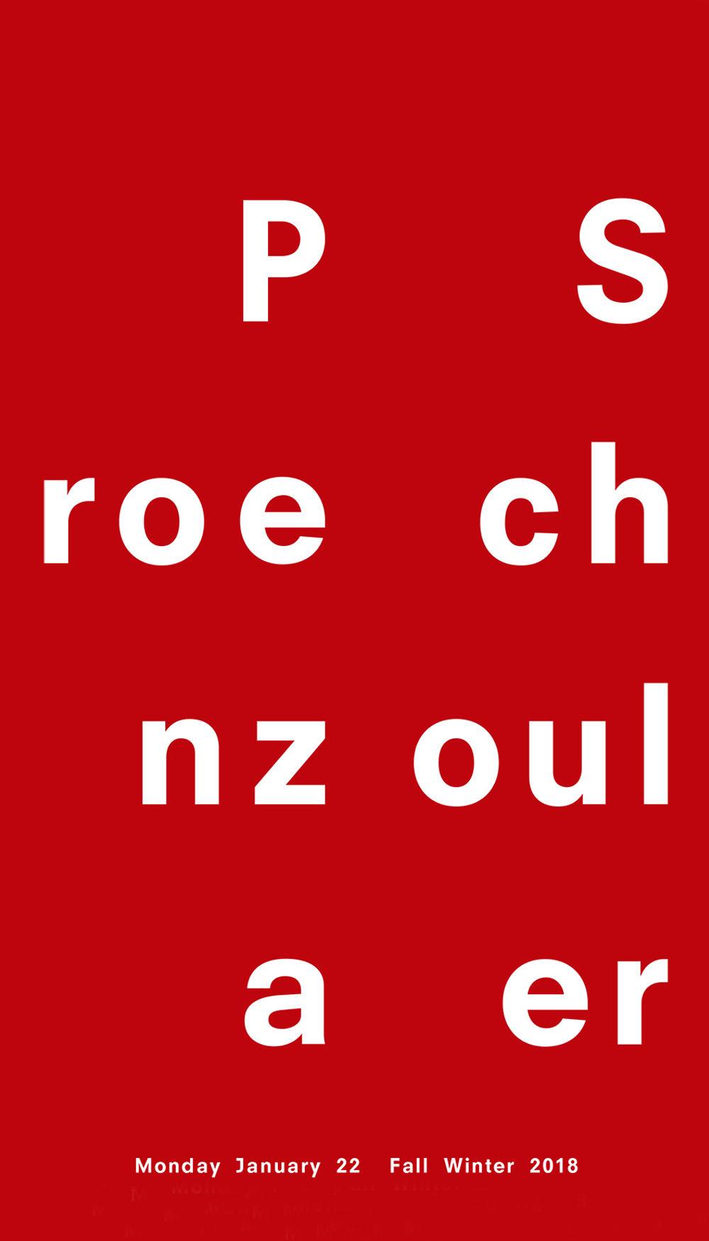 proenza schouler fall 2018 show