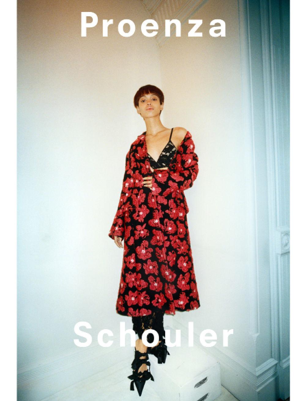proenza schouler spring 2018 ad campaign
