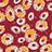 Pomegranate-Tangerine-Beige