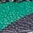 emerald multicolor