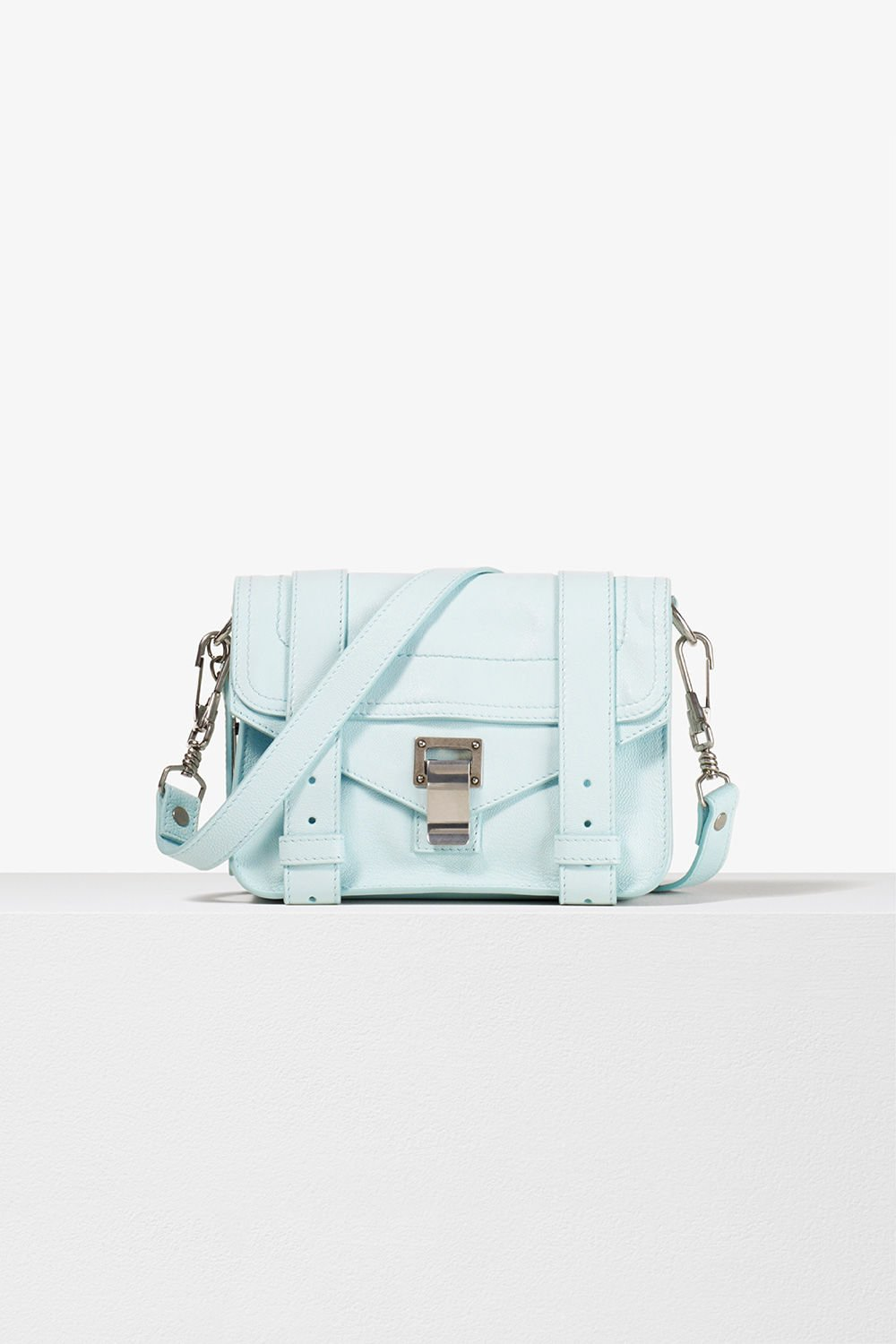 proenza schouler spring 2017 sky lux leather ps1 mini crossbody bag