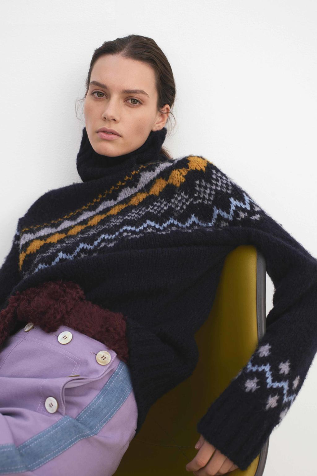 derek lam 10crosby knitwear collection